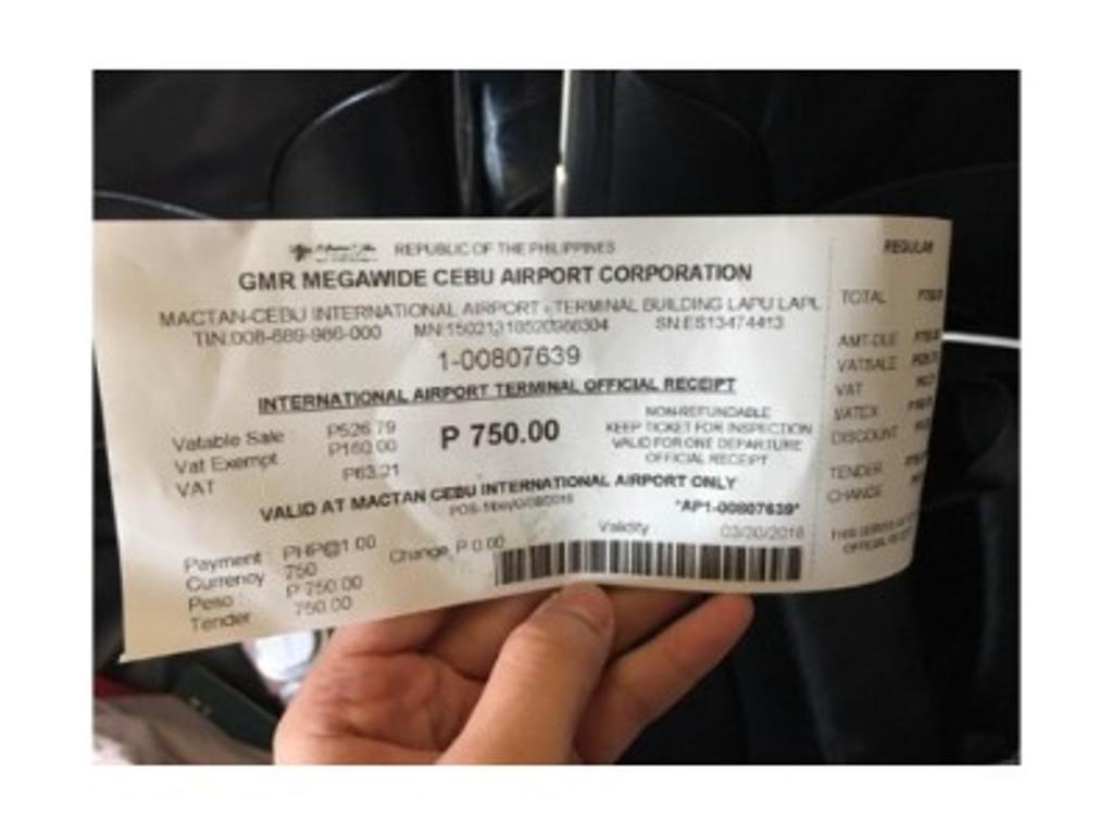 菲律賓離境稅