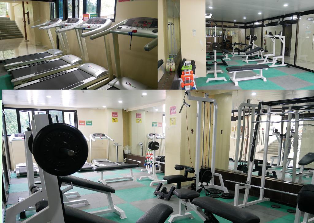 位於PINES主校區二樓的健身房。